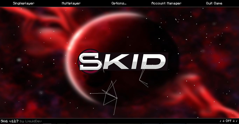 Skid Hacked client Minecraft