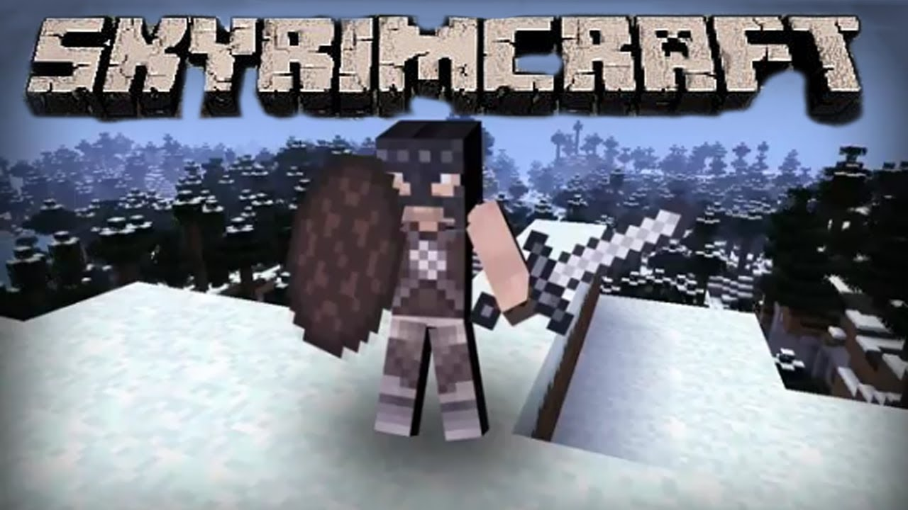 SkyrimCraft The Ender Scrolls Minecraft