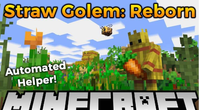 Straw Golem Reborn Mod Minecraft