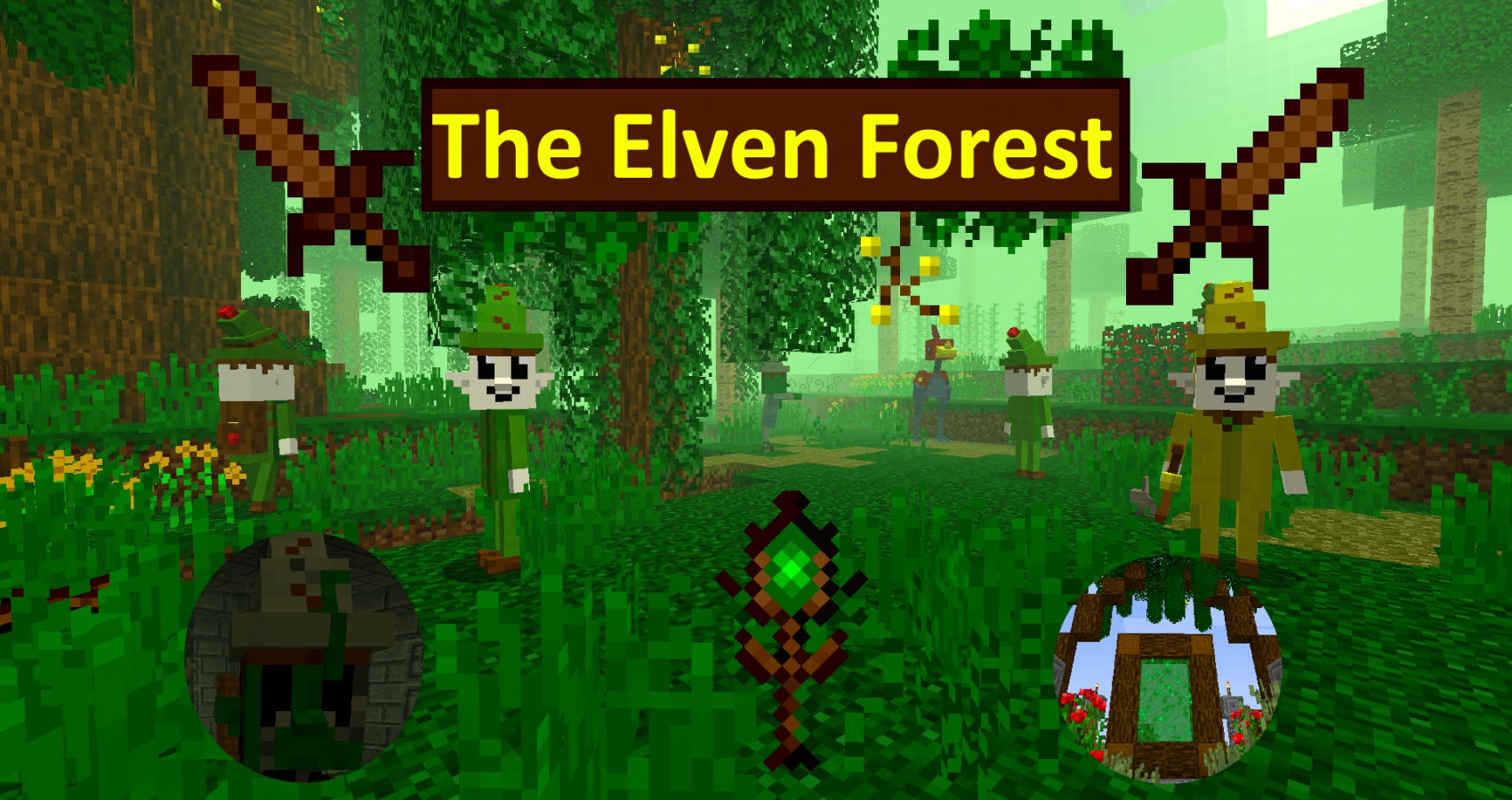 The Elven Forest Mod Minecraft