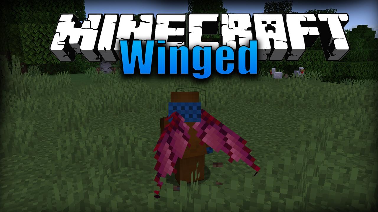 Winged Mod Minecraft