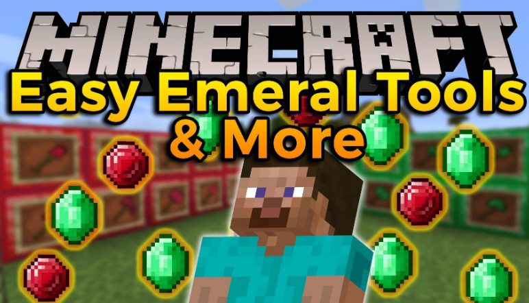 Easy Emerald Tools & More Mod