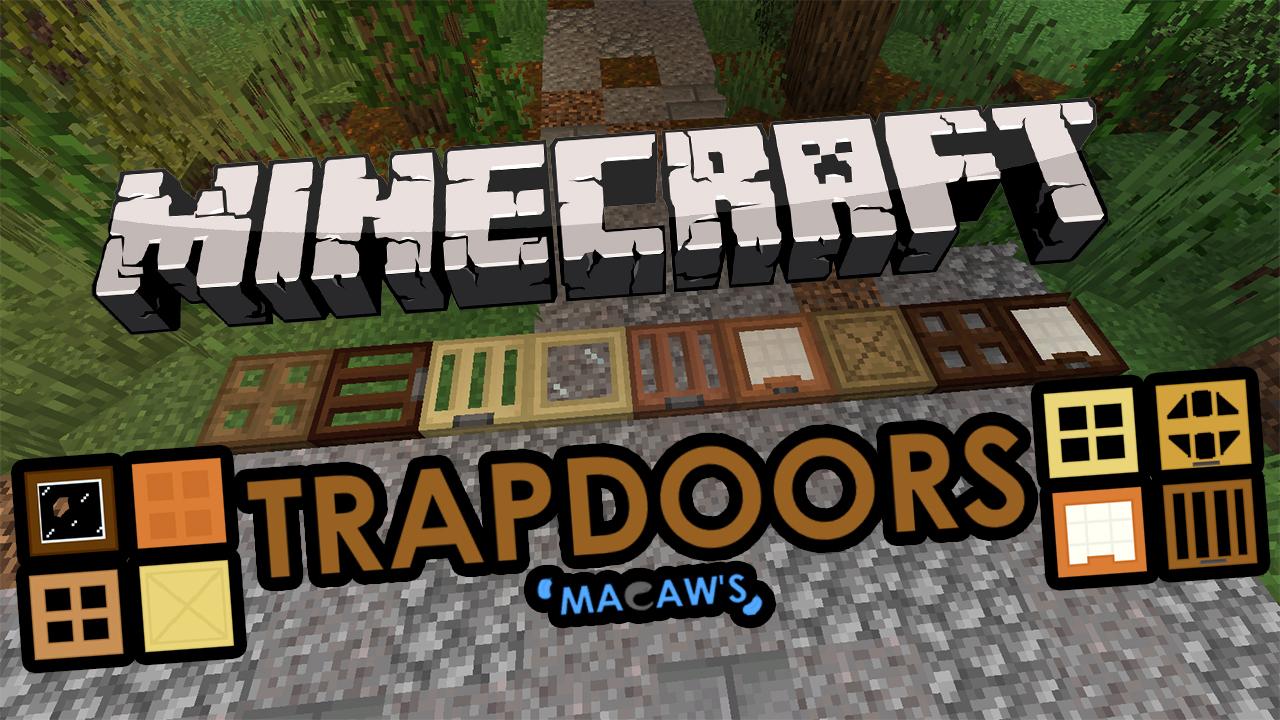 Macaws Trapdoors Mod Minecraft