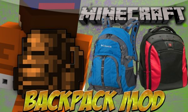 Minecraft backpacks
