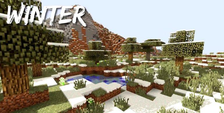 Minecraft winter