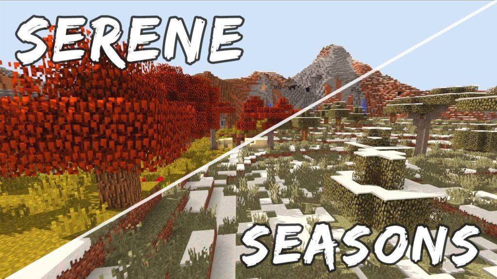 Serene Seasons Mod Minecraft