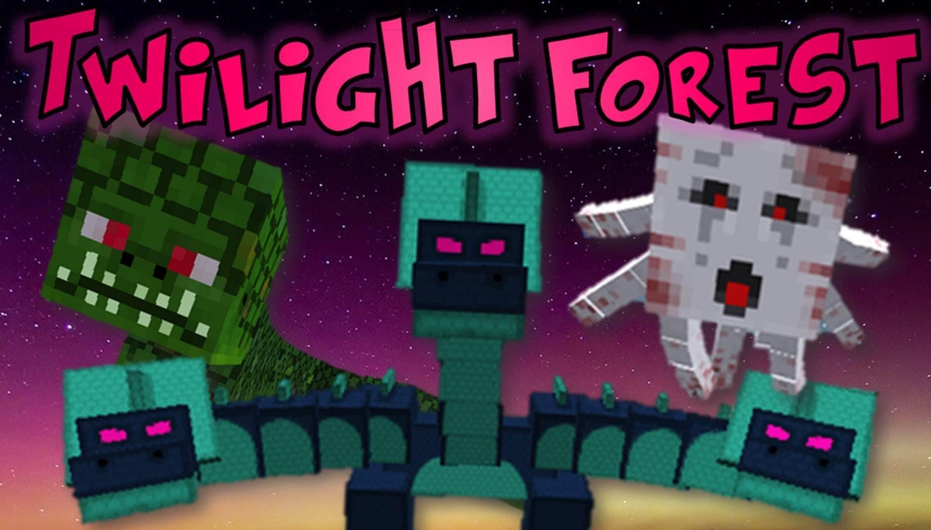 The Twilight Forest Mod Minecraft