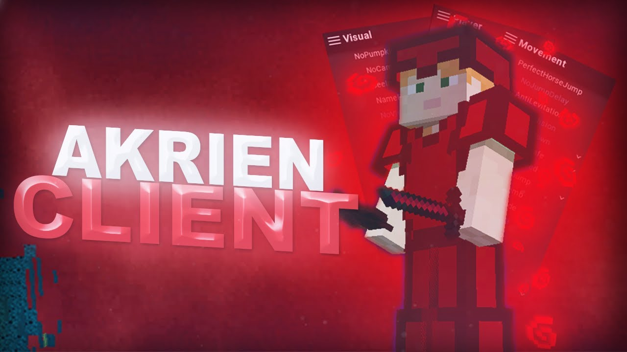 Akrien hacked client Minecraft