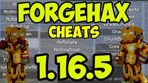 ForgeHax Minecraft hacked client