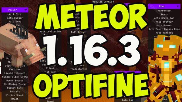 Minecraft 1.16.3 hack