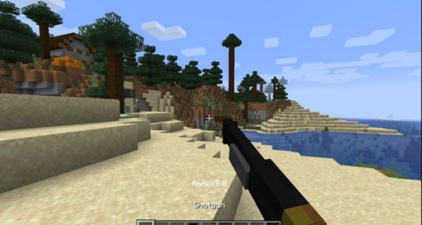 minecraft weapons