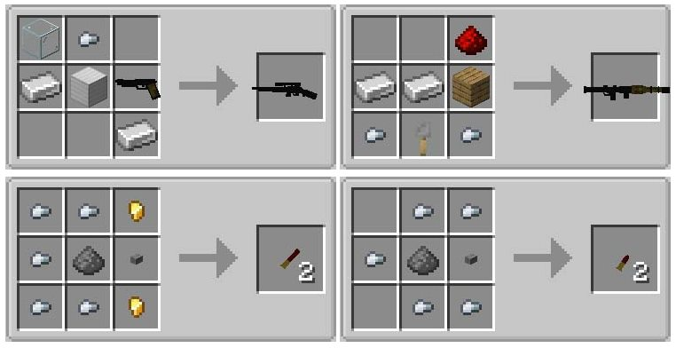 mods for minecraft weapons