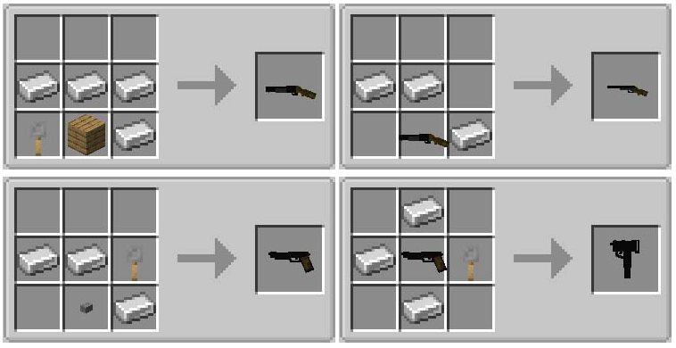 simple guns minecraft