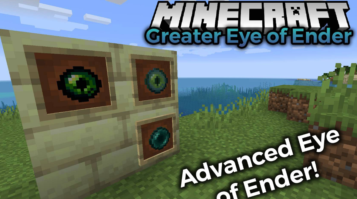 Greater Eye of Ender Mod