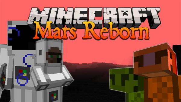 Mars Reborn Mod Minecraft