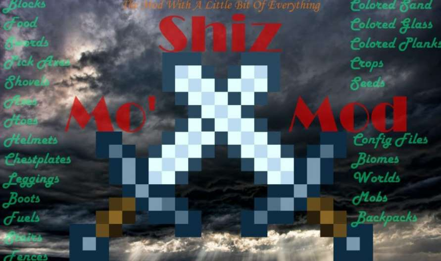 Mo Shiz Mod Minecraft