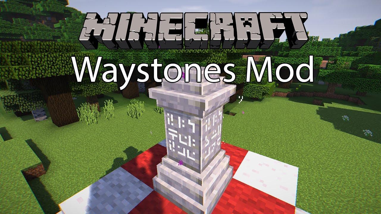 Waystones Mod Minecraft