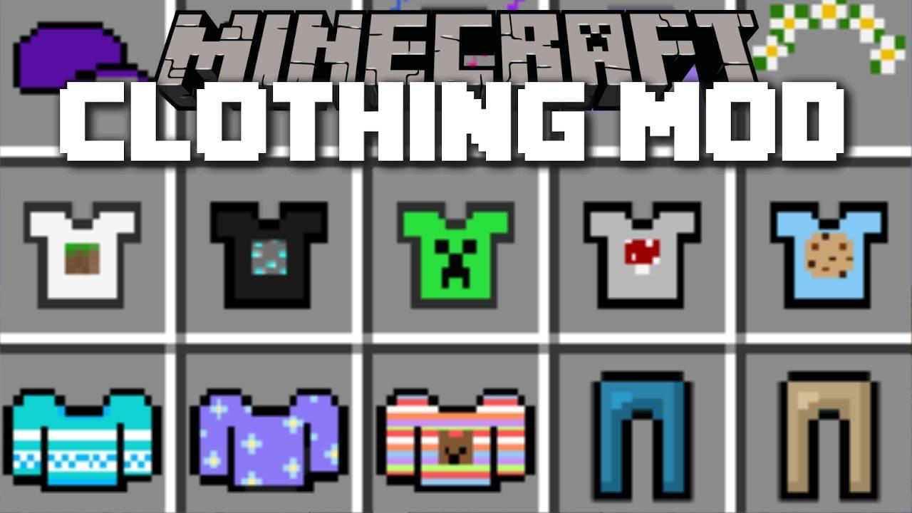 Clotching Mod for Minecraft 1.12.2