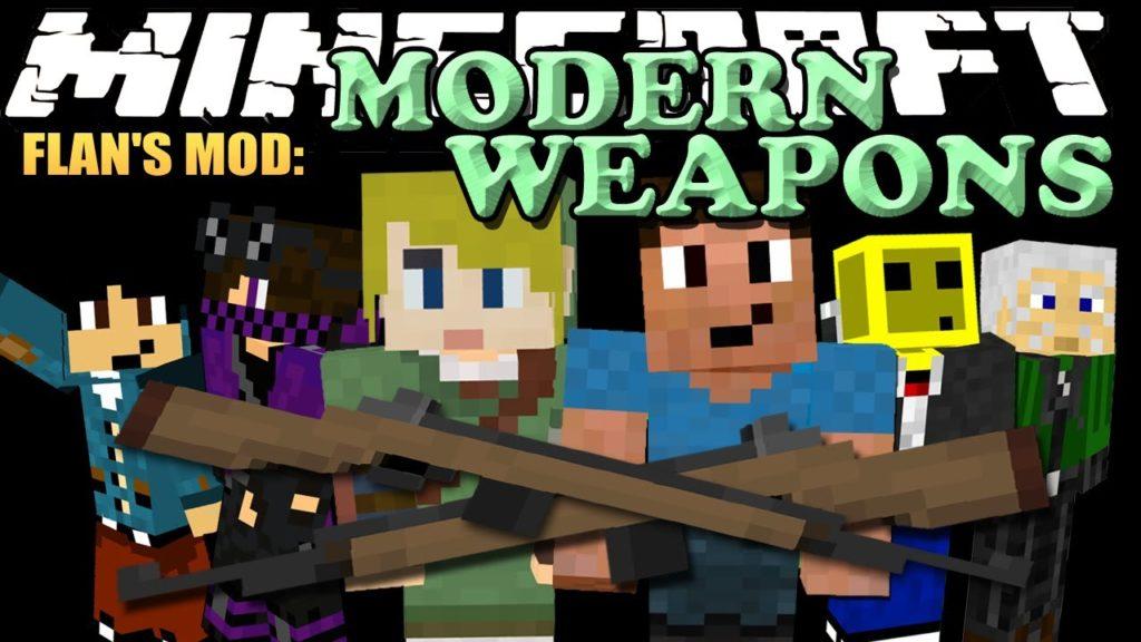 Flan's 3D modern weapons