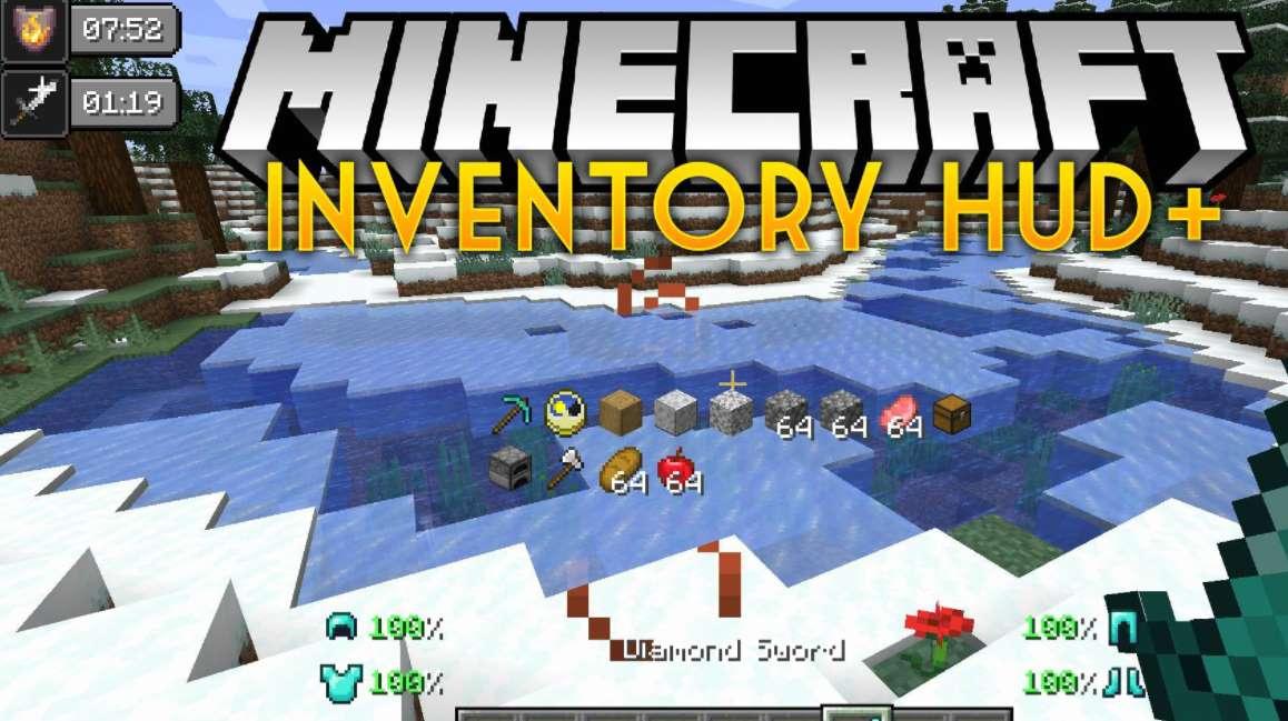 Inventory HUD+ Mod Minecraft 1.17.1/1.17