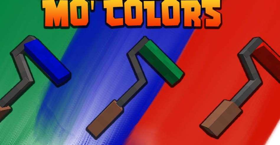 Mo' Colors Minecraft 1.17.1