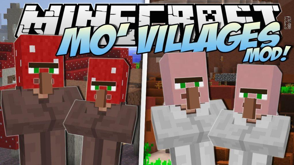 Mo'Villages Mod Minecraft 1.12.2