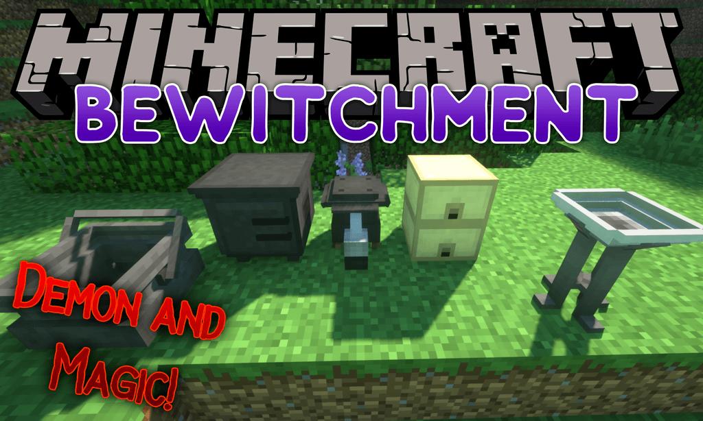 minecraft demons and magic