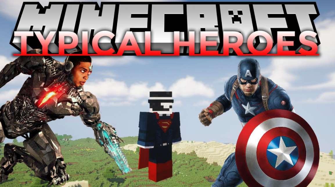 superheroes Minecraft 1.12.2