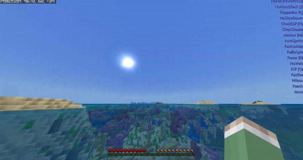 Minecraft Bedrock edition hack