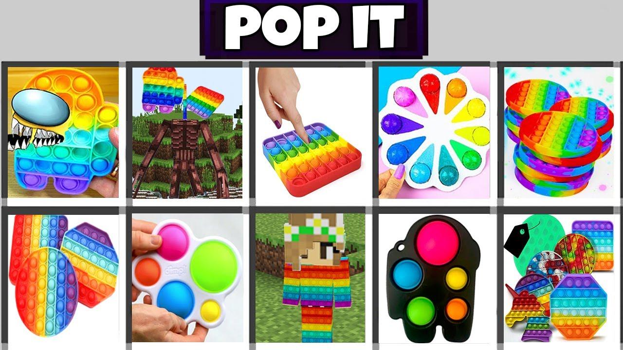 Minecraft Pop It Mod