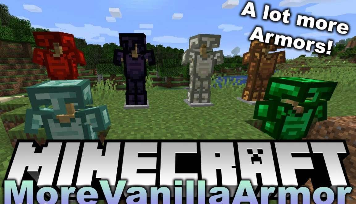 MoreVanillaArmor Mod