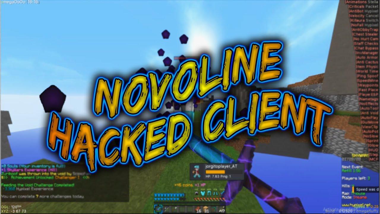 Novoline hacked client 1.17.1