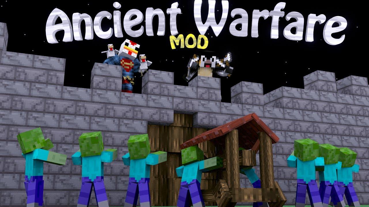 Ancient Warfare Mod Minecraft 1.12.2