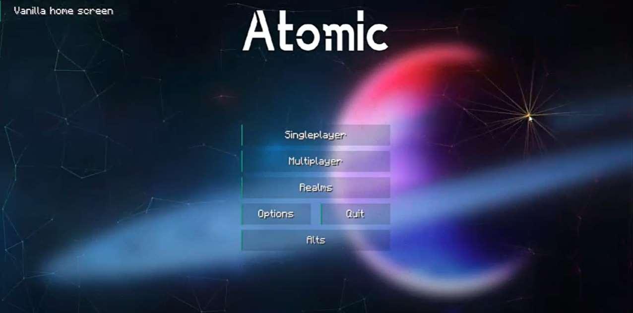 Atomic Hacked Client Minecraft 1.17.1