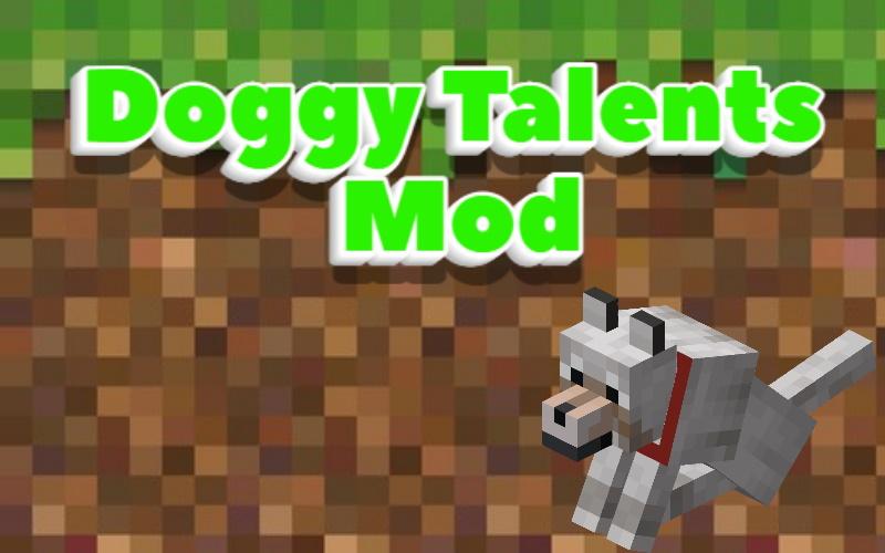 Doggy Talents Mod Minecraft 1.17.1