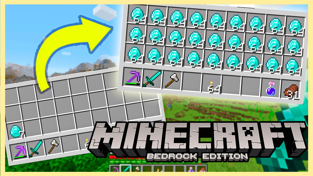Dupe items Minecraft Bedrock Edition 1.17