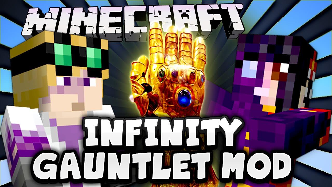 Infinity Gauntlet Mod Minecraft 1.12.2