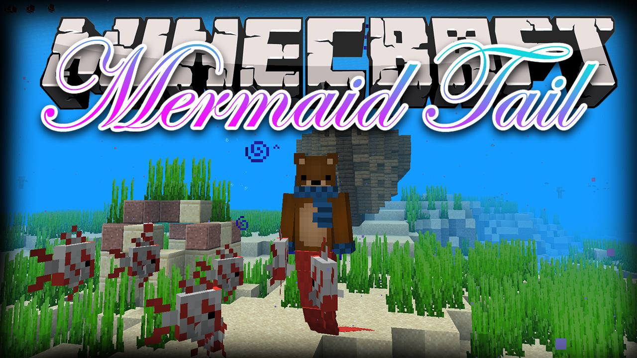 Mermaid Tail Mod Minecraft