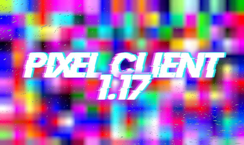 Pixel hacked client Minecraft