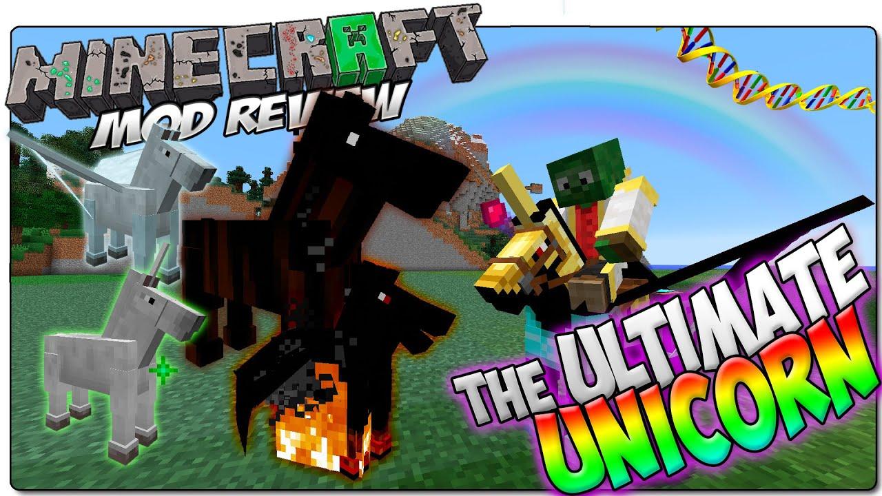 The Ultimate Unicorn Minecraft Mod 1.12.2