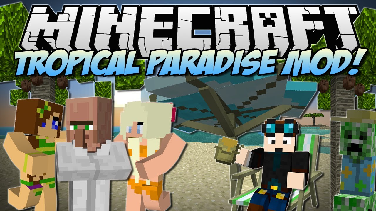 Tropicraft Mod Minecraft 1.16.5