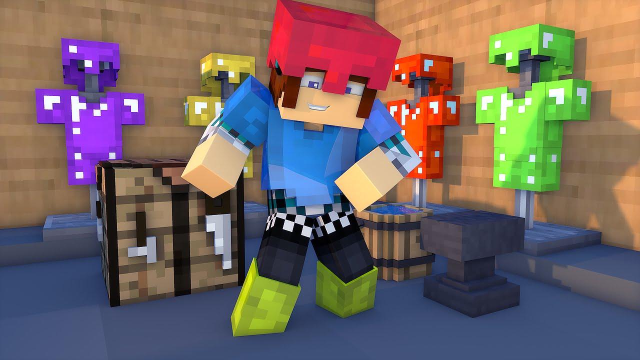 Colorful Armor Mod Minecraft 1.17.1
