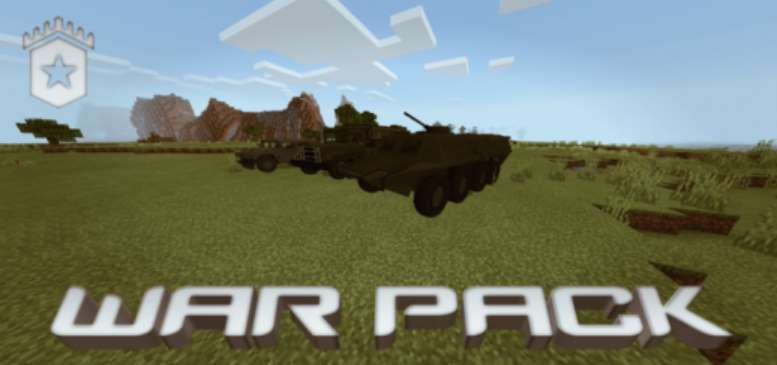 Morningstar War Pack Mod MCPE