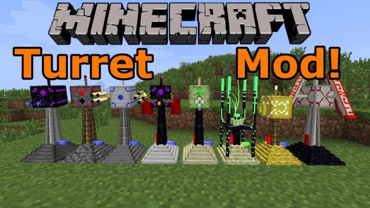 Turret Mod Minecraft 1.12.2